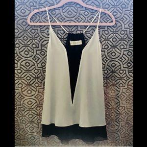 Ramy Brook Sleeveless Silk Blouse